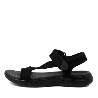 Skechers 16176 On The Go 600 Rbx Black Sandals