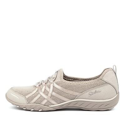 Skechers 23826 Breath Easy Envy Taupe Sneakers