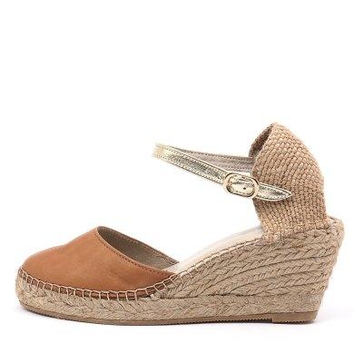 Sofia Cruz Alivia Sc Cuero (Tan) Sandals
