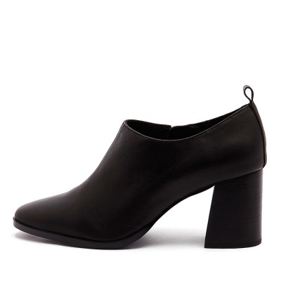 Sol Sana Gladis Heel Black Shoes Womens Shoes Casual Heeled Shoes
