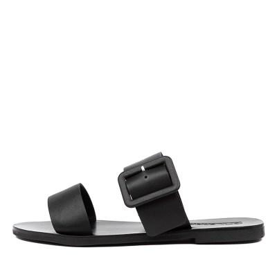 Sol Sana April Ii Slide Black Sandals