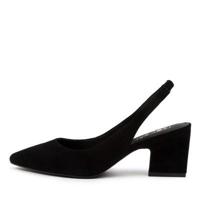 Sol Sana Jac Ii Heel Ss Black Shoes