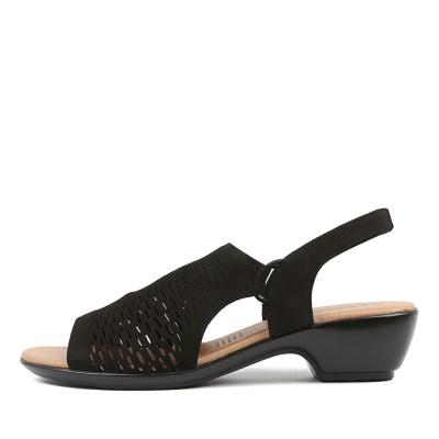 Supersoft Debs Black Sandals