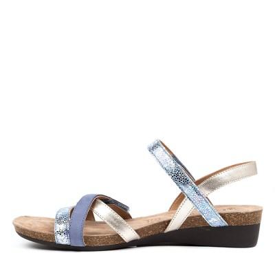 Supersoft Queisha Blue Multi Sandals