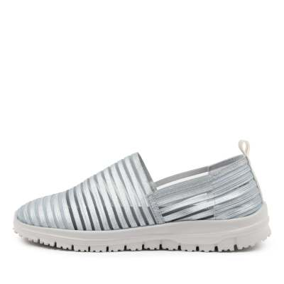 Supersoft Camero Silver Grey Sole Sneakers Womens Shoes Casual Casual Sneakers
