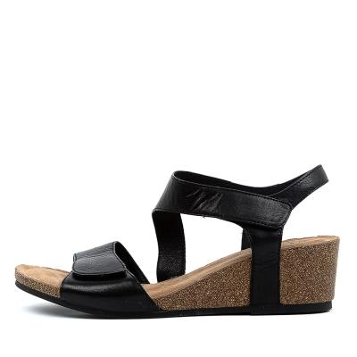 Supersoft Reavis Su Black Sandals