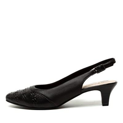 Supersoft Laveta Su Black Shoes