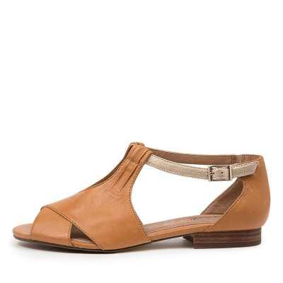 Supersoft Eventine Su Tan Platinum E Sandals