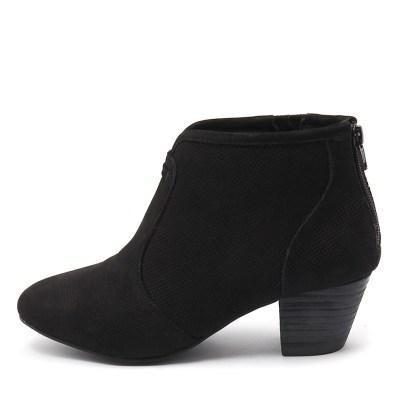 Supersoft Hula Su Black Boots