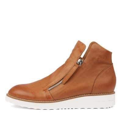 Top End Ohmy Dk Tan Sneakers