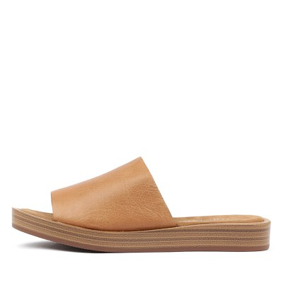 Top End Faron Tan Sandals