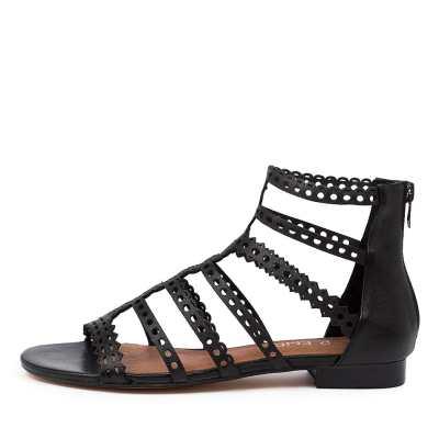 Top End Prairie To Black Sandals