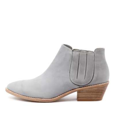 Top End Candini Denim Boots Womens Shoes Casual Ankle Boots