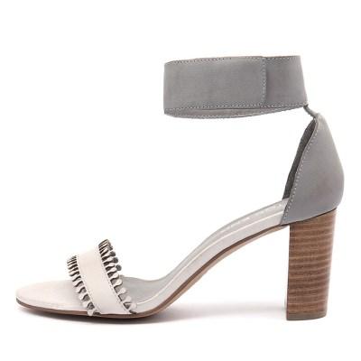 Top End Troy Misty Blue Grey Sandals