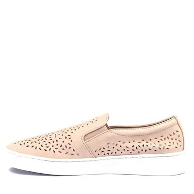 Vionic Splendid Midi Perf Dusty Pink Sneakers