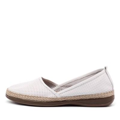Zensu Camilla Ze White Shoes