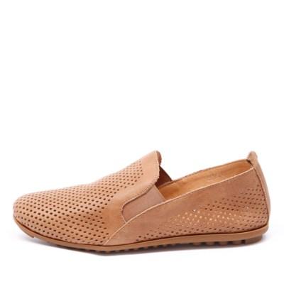 Django & Juliette Bescara Tan Shoes