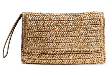 Cheap Straw Bag Clutch H&M