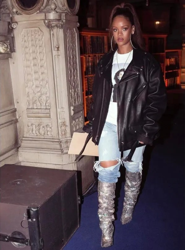7-affordable-slouch-boots-to-love-like-rihanna's-YSL-Crystal-Boots
