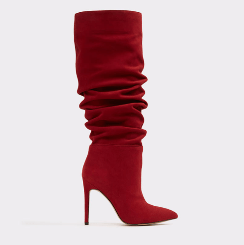 Aldo-Zoania-Red-Slouch-Boots