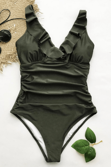 c08299377810f Stylish, Affordable Bathing Suits That Hide Your Tummy | Style Uncovered