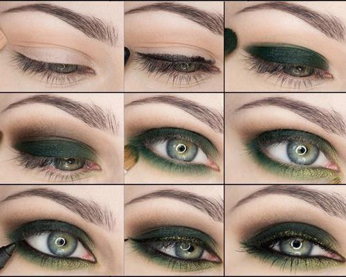 Smokey Eye Makeup For Green Eyes