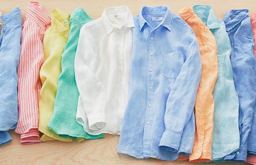 Uniqlo linen shirts