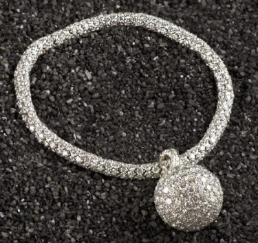 Sidney Garber white gold and diamond rope, $39,000