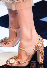 Fall 2016 Shoes Embellished D&G