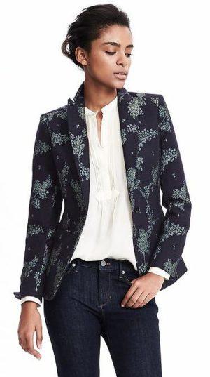 banana republic revamps brand- heritage blazer $198