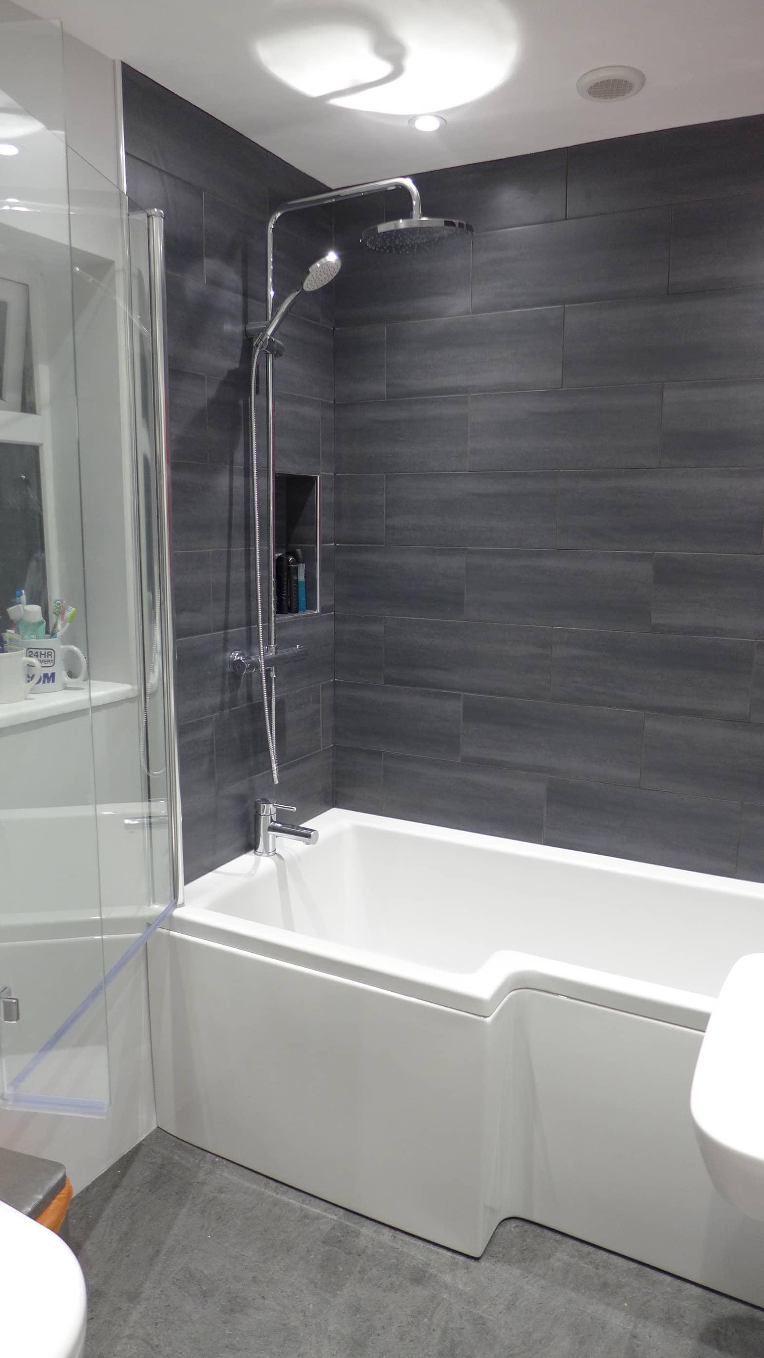 Family Bathroom Refurbishment Bath Style Within