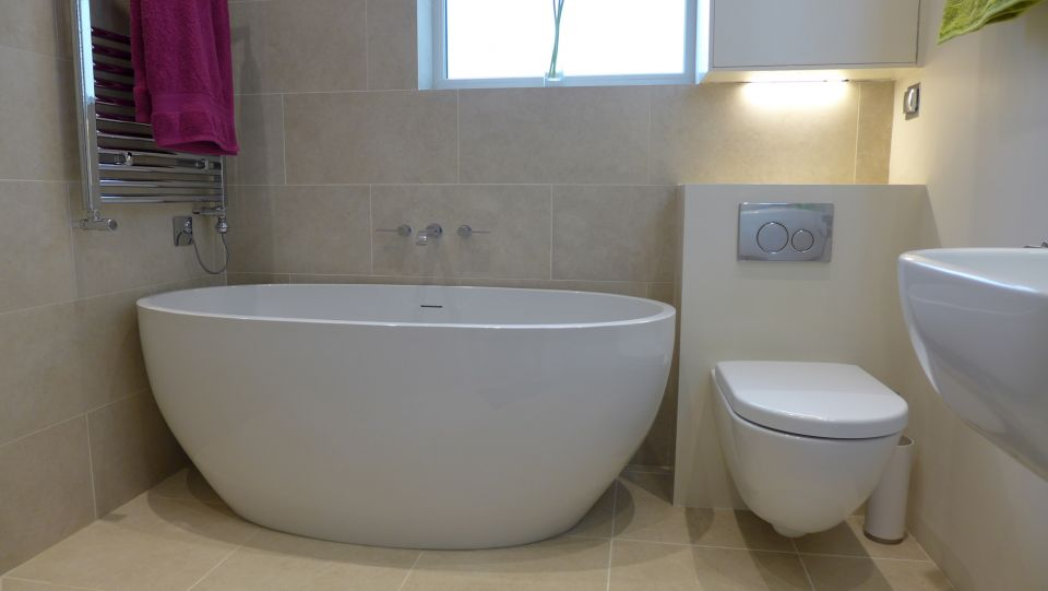 Bathrooms and En Suites on Wet Room With Freestanding Tub  id=13738