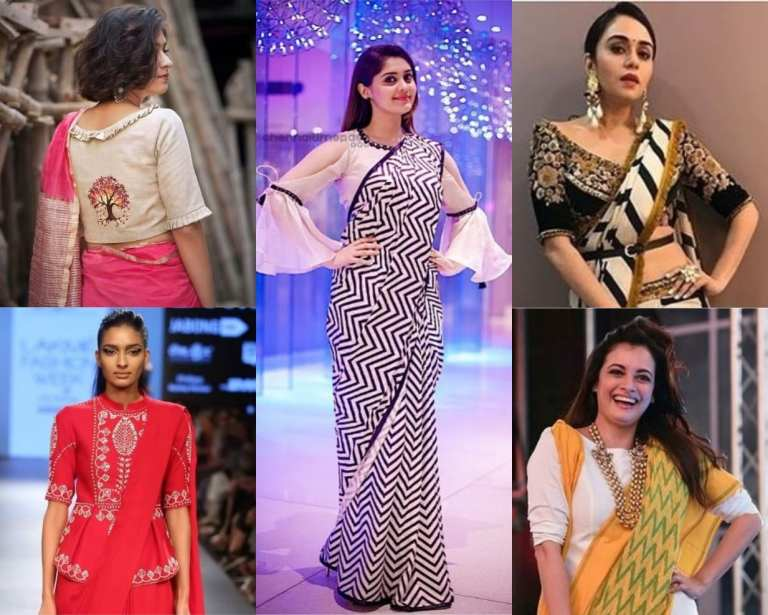 Top 50 Indian Saree Blouse Designs and Patterns
