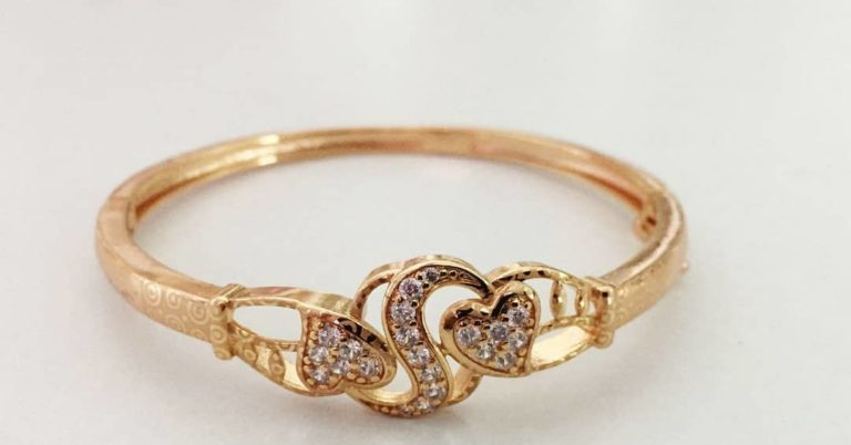 romantic gold plated ring