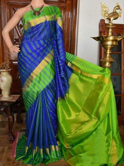 Gorgeous Silk Saree designs for women (7)