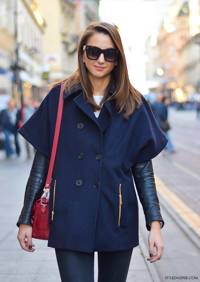 stajling za svaki dan, moda jesen 2015 zagreb, StyleZagreb.com, street style look Iva Marija Ramljak, moda jesen, stajling jakna-pelerina i trapezice