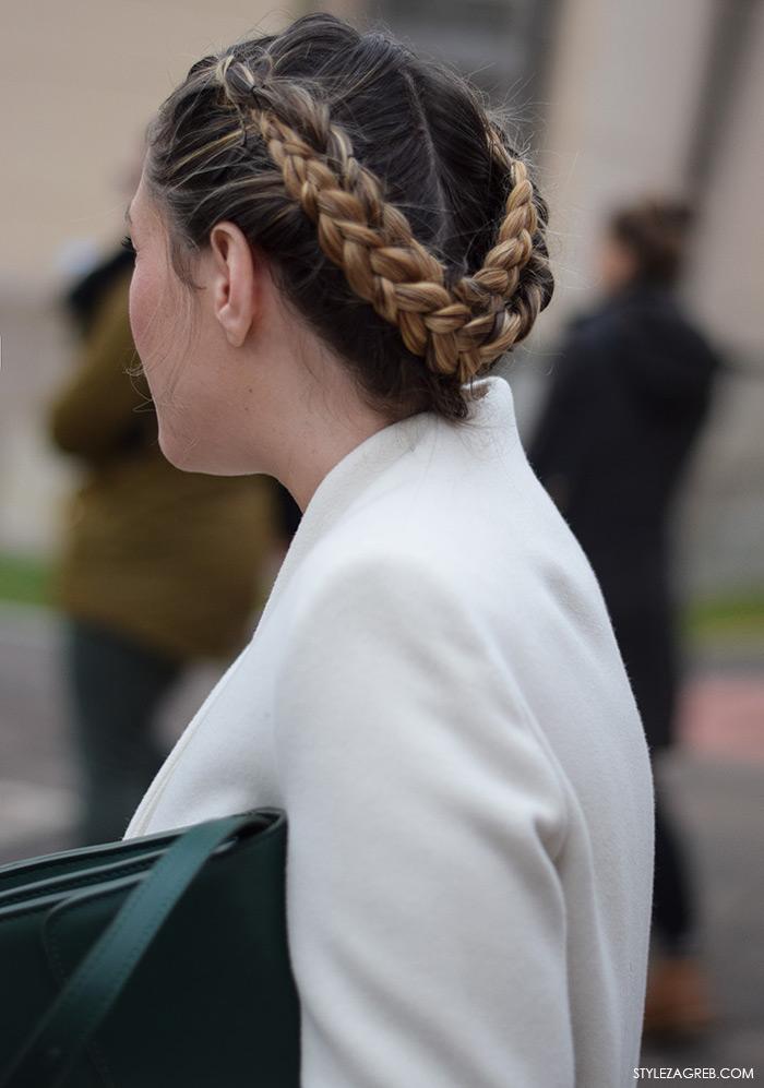 Lijepa frizura - pletenice