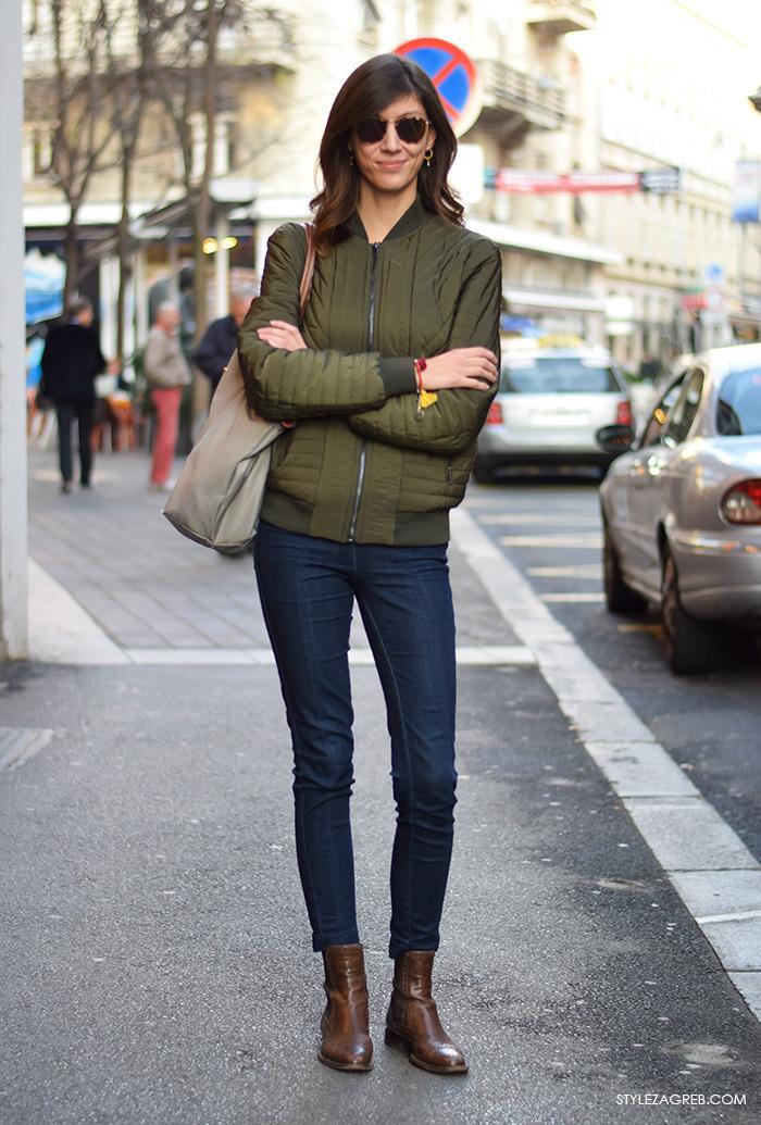Gloria časopis, street style Zagreb prosinac 2015, Advent u Zagrebu, Dina Dončević