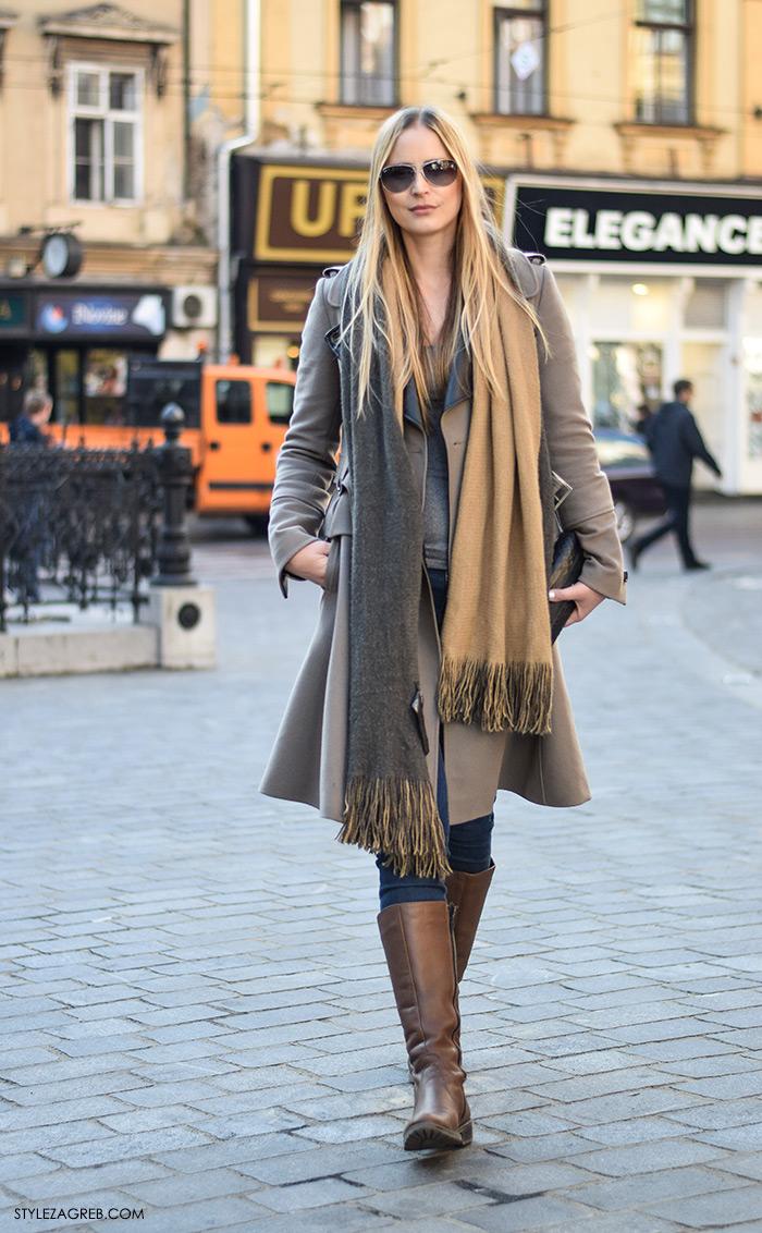 street style Zagreb zimska moda, kaputi bunde, Stylezagreb.com Hajdi Ćenan, izvršna direktorica u marketinškoj agenciji Drap