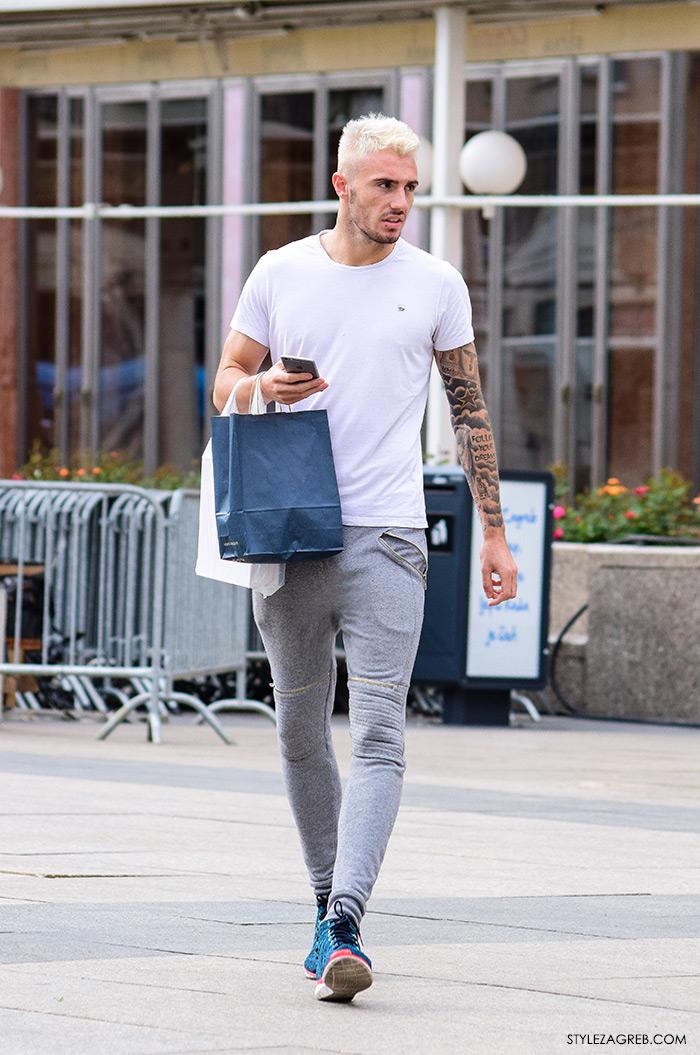 Nicolas Taravel, nogomenti klub Dinamo nogometaš, ulična moda Zagreb muška moda joggeres i tenisice, brat Jeremy Taravel