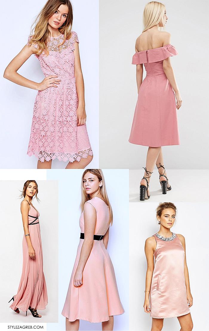 Mala roza haljina, street style Zagreb ulična moda, ženska moda, online trgovine