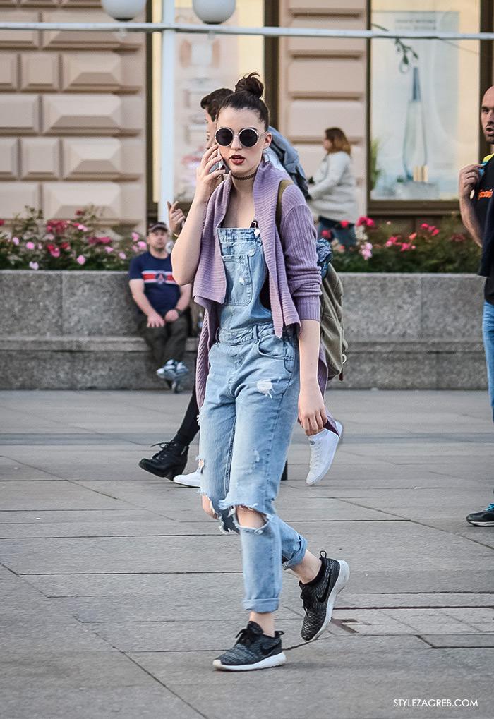 što djevojke odijevaju za večernji izlazak, street style Zagreb ulična moda