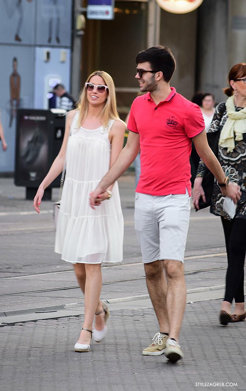 street style Zagreb Cest is d'Best program, ulična moda zagrebačka špica subota proljetna ženska moda midi haljina i espadrile