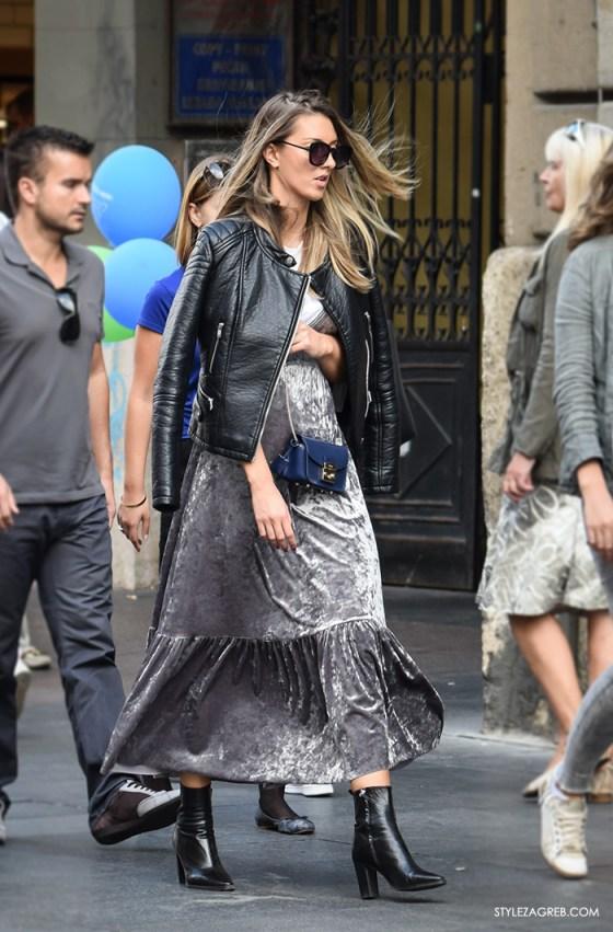 Dvije Zara haljine od baršuna su totalni hit