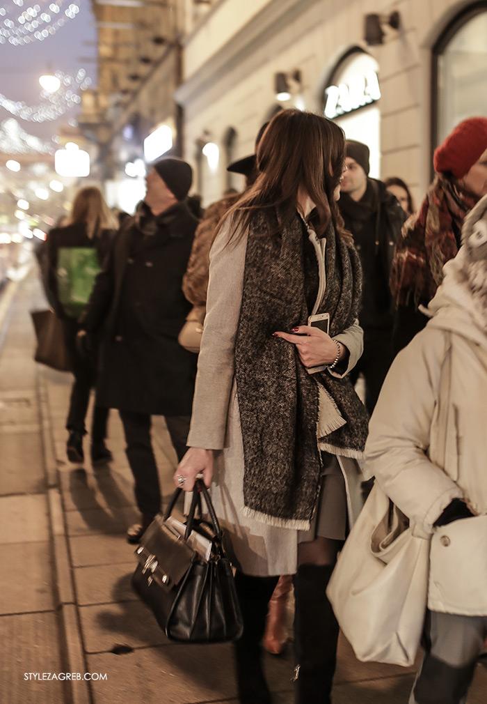 women's winter fashion what to wear street style how to wear grey elegant coat business look for women