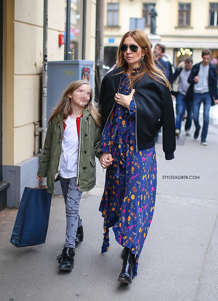 Street style: Maja Tedeschi Vetements. Predivna haljina koju nosi Maja Tedeschi hit je ovog proljeća