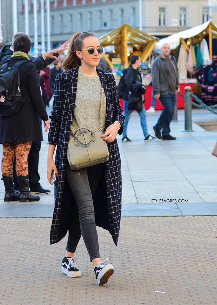 kaput ženska moda street style zagreb špica najnovije kakav kroj kaputa Pull & Bear