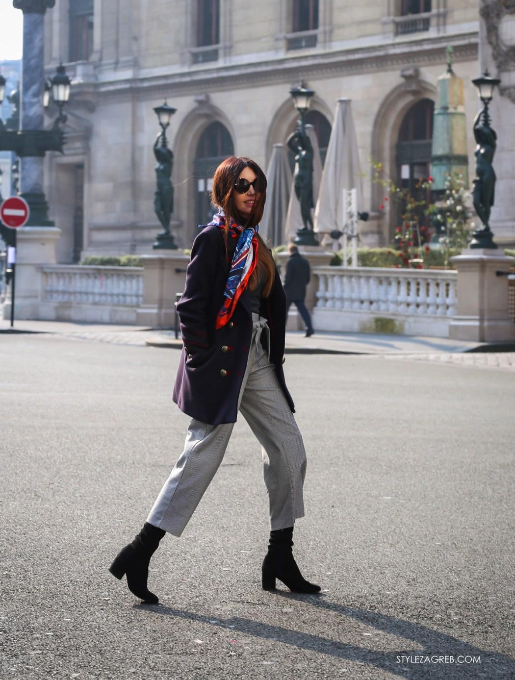Jer moda, pa tako i hrvatska, tek kroz Pariz doista zablista!