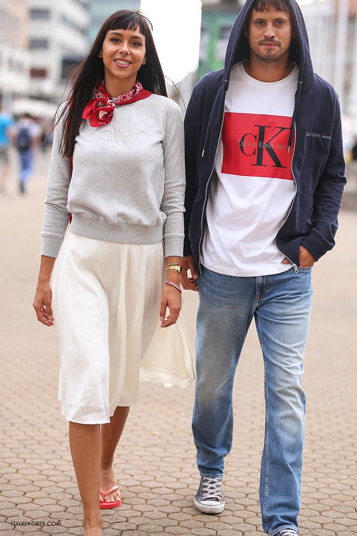 Calvin Klein Jeans sniženja Tija Malik i Jakov Kamber