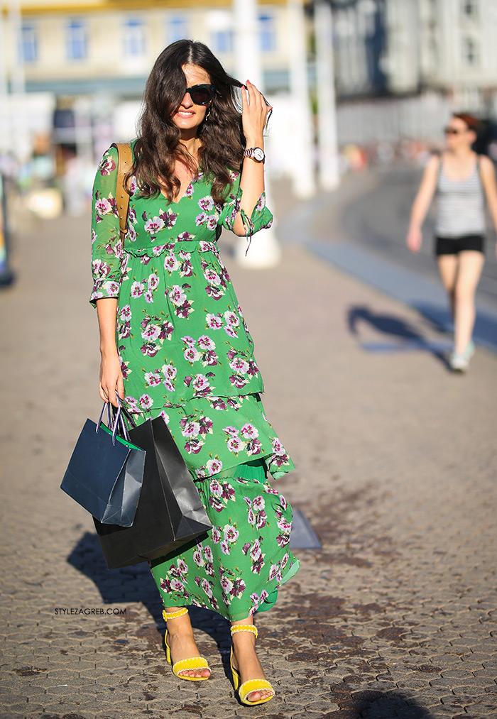Pazite, ova zelena haljina će se rasprodati u trenutku